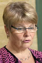 Näringsminister Maud Olofsson. Fredrik Sandberg /Scanpix
