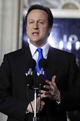 David Cameron ska leda Storbritanniens regering. Foto: Lefteris Pitarakis/Scanpix