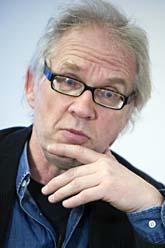 Lars Vilks blev överfallen när han talade om yttrandefrihet. Foto: Bertil Ericson/Scanpix