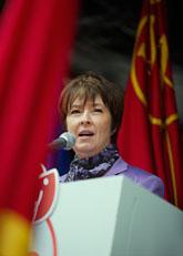 Socialdemokraternas ledare Mona Sahlin. Foto: Jonas Ekströmer/Scanpix