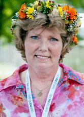 Annika Östeberg ska sommarprata i radio. Foto: Maja Suslin/Scanpix