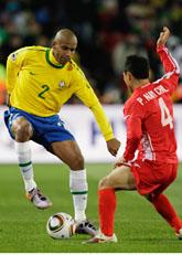 Brasilien vann sin första VM-match. Foto: Andre Penner/Scanpix