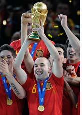 Spanien vann VM-guld. Foto: Scanpix