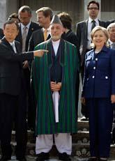 40 länders ledare har haft möte om Afghanistans framtid. Foto: Scanpix
