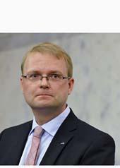 Högskoleminister Tobias Krantz. Foto:Bertil Ericson/Scanpix