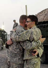 Amerikanska soldater lämnar Irak. Foto: Maya Alleruzo/AP/Scanpix