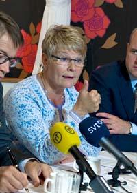 Näringsminister Maud Olofsson. Foto: Bertil Ericson/Scanpix