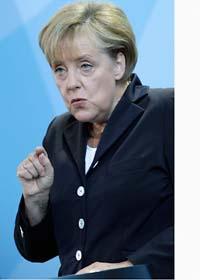 Angela Merkel är förbundskansler i Tyskland. Foto: Michael Sohn/Scanpix