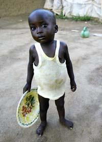 Svälten i världen har minskat det senaste året. Foto: George Osodi/Scanpix