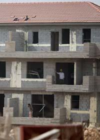 Israel har byggt många bostäder på palestiniernas områden. Foto: Ariel Schalit/Scanpix