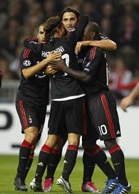 Zlatan gjorde mål igen. Foto: Bas Czerwinsky/Scanpix