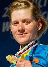 Emma Johansson tog brons i VM. Foto: Heiko Junge/Scanpix