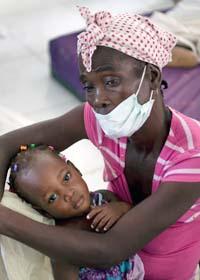 Tusentals människor i Haiti har smittats av kolera. Foto: Ramon Espinosa/Scanpix