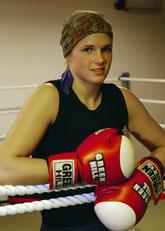 Frida Wallberg ska boxas om VM-titeln. Foto: Anders Wejrot/Scanpix