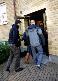 I helgen grep polisen i Malmö en man som misstänks för skotten mot invandrare. Foto: Claudio Bresciani/Scanpix