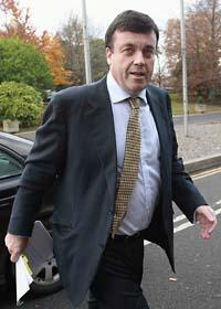 Irlands finansminister Brian Lenihan. Foto: Julien Behal/Scanpix