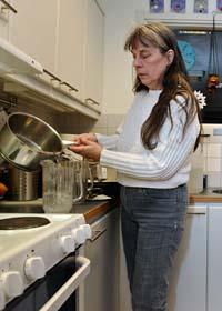 Vattnet i Östersund måste kokas innan det kan drickas. Foto: Anders Wiklund/Scanpix