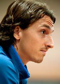 Zlatan hotar att sluta med fotboll om några år. Foto: Jessica Gow/Scanpix