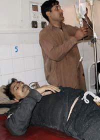 Manga dödades av bomber i Pakistan på måndagen. Foto: Mohammad Iqbal/Scanpix