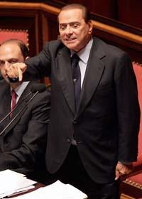 Silvio Berlusconi. Foto: Pier Paolo Cito/Scanpix