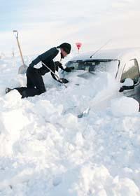 Det är snöigt och kallt i Sverige. Foto: Johan Nilsson/Scanpix