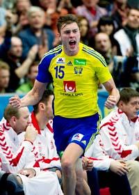 Sverige är klart för semifinal i VM. Foto: Adam Ihse/Scanpix