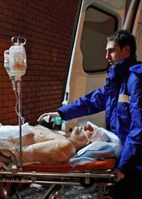 35 människor dödades i terrordådet i Moskva. Foto: Alexander Zemlianichenko/Scanpix