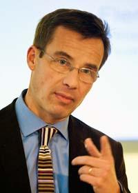 Socialförsäkringsminister Ulf Kristersson. Foto: Bertil Ericson/Scanpix
