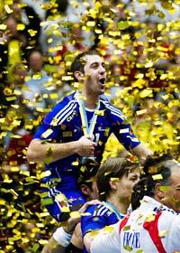 Frankrike är världsmästare igen. Foto: Andreas Hillergren/Scanpix