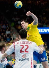 Sverige går vidare i handbolls-VM. Foto: Adan Ihse/scanpix