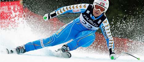 Med två bra åk tog Anja en ny VM-medalj. Foto; Scanpix