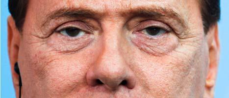 Silvio Berlusconi. Foto: Markus Schreiber/Scanpix