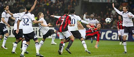Tottenham slog Milan på bortaplan.