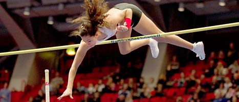 Angelica slog rekord i stavhopp. Foto: Maja Suslin/Scanpix