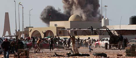 Striderna i Libyen fortsätter. Foto: Hussein Malla/Scanpix