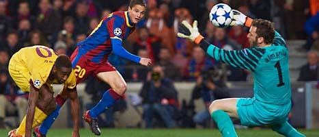 Barcelona gick vidare i Champions League i fotboll. Foto: Siu Wu/Scanpix