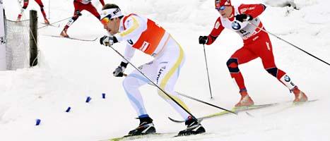 Emil Jönsson vinner världscupen för andra året i rad: Foto: Heikki Saukkomaa/Scanpix