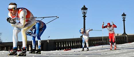 Emil Jönsson var starkast av alla vid slottet i Stockholm. Foto: Anders Wiklund/Scanpix