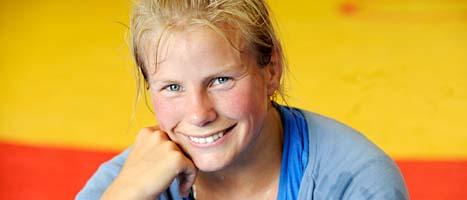Ida-Theres Nerell tog EM-guld för femte gången. Foto: Leif R Jönsson/Scanpix