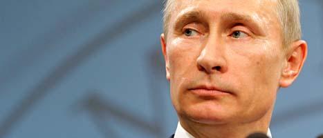 Ryssland premiärminister Vladimir Putin. Foto: Scanpix