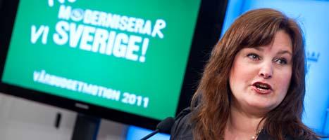 Mikaela Valtersson. Foto: Bertil Ericson/Scanpix