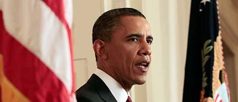 USAs president Barack Obama. Foto: Pablo Martinez/AP/Scanpix