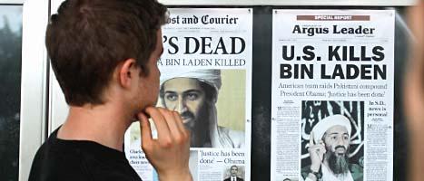 Många är oroliga för att terrorister ska hämnas för att USA dödade Usama bin Ladin. Foto: Jacquelyn Martin/Scanpix