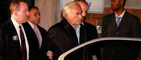 Domenique Strauss Kahn är åtalad för sexbrott i USA. Foto: Julio Cortez/AP/Scanpix.