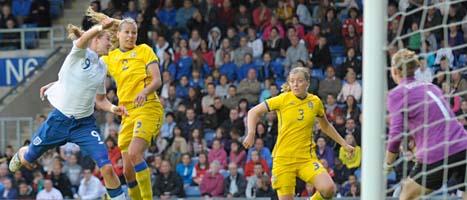 England vann tisdagens fotbollslandskamp mot Sverige. Foto: Mark Earthy/Scanpix