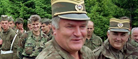 Ratko Mladic var Europas mest jagade man. Nu är han gripen. Foto: Scanpix