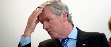 Chefen Victor Muller är ensam kvar i Saabs styrelse. FOTO: Björn Larsson Rosvall/SCANPIX