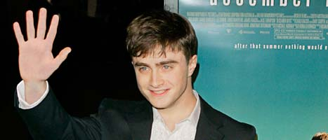 Daniel Radcliffe spelar Harry Potter. Foto: Mark J Terrill/Scanpix