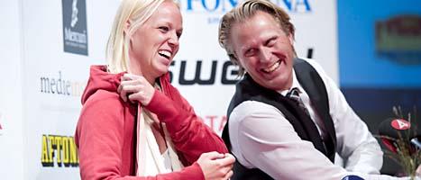 Caroline Seger flyttar till Stockholm. Foto: Fredrik Sandberg/Scanpix