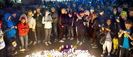 Ishockeyspelaren Stefan Liv är saknad i sin hemstad Jönköping. Foto: Anna Hållams/Scanpix